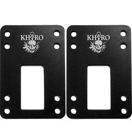 "KHIRO KHIRO SHOCK PAD SET 3/16""-SM BLACK"