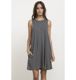RVCA SUCKER PUNCH STRIPE DRESS