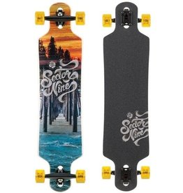 "Sector Nine SECTOR9 MERIDIAN 17 COMPLETE 40"" X 9.75"""