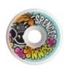 PIG Pig Wheels Daniel Lutheran<br />52mm <br />101A Durometer <br />C-Line Conical Shape<br />Natural Urethane<br />PIG SPENCER VICE 53 MM