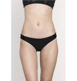RVCA Girls Solid Cheeky Bikini Bottoms