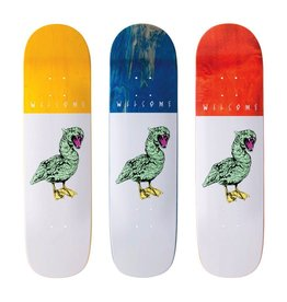 WELCOME SKATEBOARDS GOOSER ON BUNYIP - WHITE