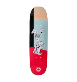 WELCOME SKATEBOARDS HEDO RICK ON MOONTRIMMER 2.0 - RED