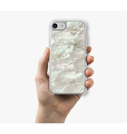 RECOVER WHITE SHELL ABALONE IPHONE 7 AND 6S CASE