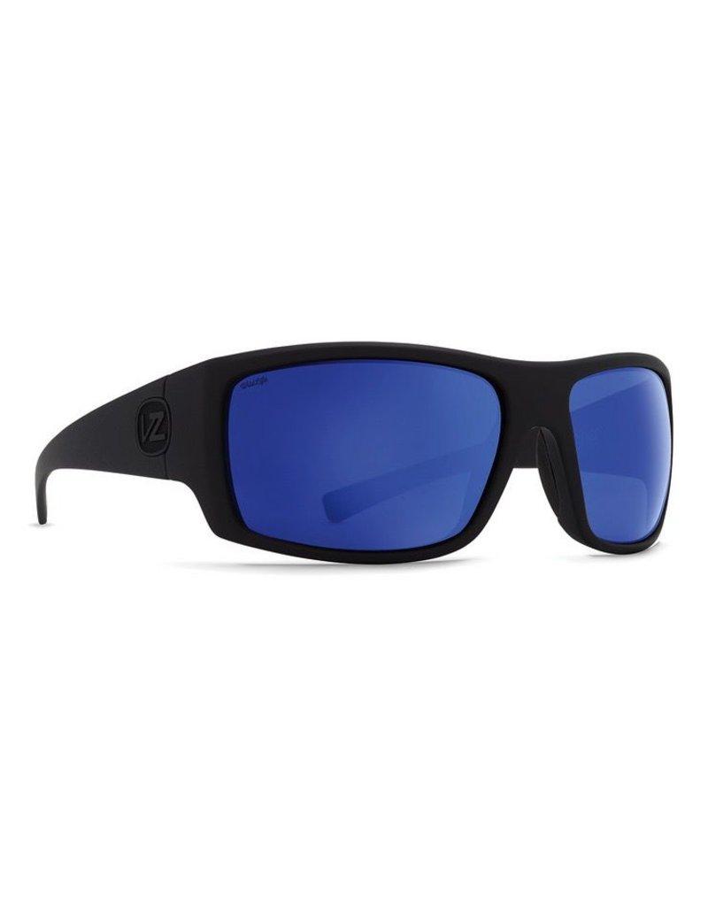 VonZipper SUPLEX POLAR PBV BLK SATIN/WILD BLUE FLASH POLAR