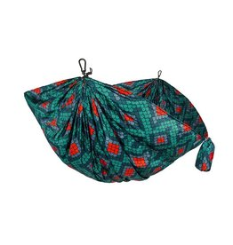 GRAND TRUNK DOUBLE PARACHUTE NYLON HAMMOCK PRINT SCALES FIREBELLY