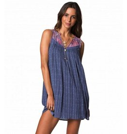 ONEILL ONEILL CLARA BLEACHED DENIM DRESS