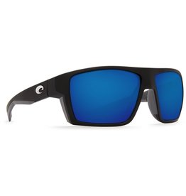 Costa Del Mar BLOKE MATTE BLACK MATTE GRAY BLUE M