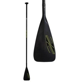 BOARDWORKS 2 PIECE FIBERGLASS/PLASTIC PADDLE BLACK/BLACK