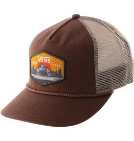 VANS VANS WIRTH TRUCKER HAT / TOFFEE