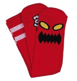 TOY MACHINE Toy Machine Monster Sock Red