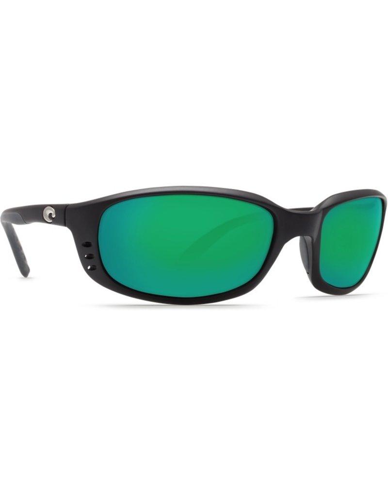 Costa Del Mar COSTA BRINE BLACK GREEN MIRROR 580G