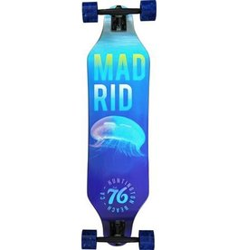 "MADRID Complete, Push, Missionary 37.375"" DROP THRU, Jelly, Randal 180mm Black, Cruiser 70mm Blue, Madrid Diecut Grip, Cadillac Bearings, De-Wedge Risers"
