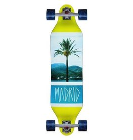 "MADRID Complete, BASIC USA, Weezer, Coastline, X-Caliber 180mm, Cadillac Cruisers Blue Marble, Standard Bearings, Madrid Diecut Flypaper Grip, 1/8"" Risers"