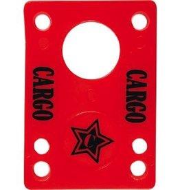 EASTERN SKATE CARGO SHOCK PAD 1/8 RED SINGLE