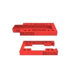 EASTERN SKATE BLOCK RISER STASHBLOCK RISERS KIT RED