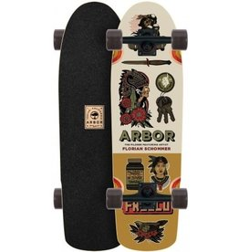 GLOBE Arbor Pilsner Artist Collection Longboard Skateboard Complete 2017