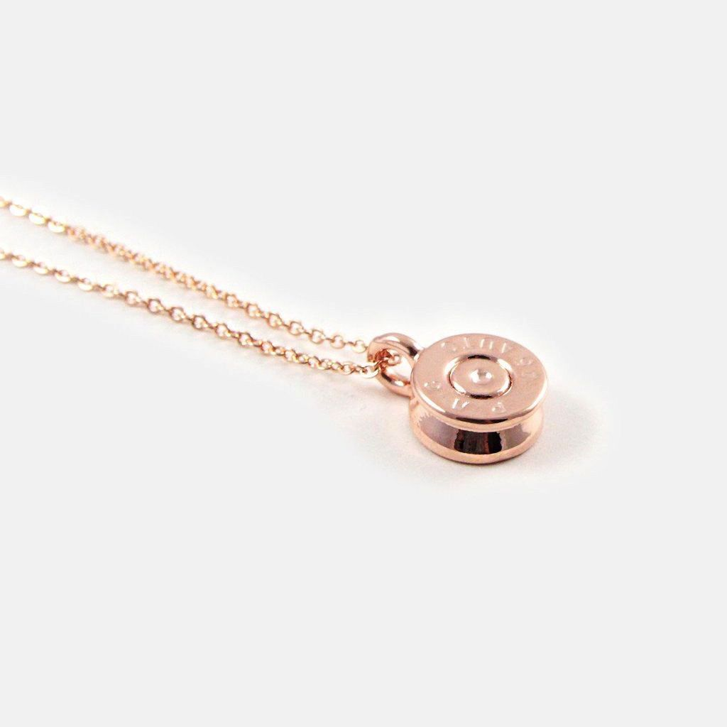 HALF UNITED The Tiny Top Necklace-Rose Gold