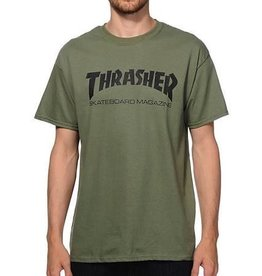 THRASHER SKATE MAG SS S-ARMY/BLK