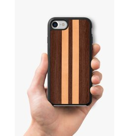RECOVER WENGE AND MAPLE STRIPE IPHONE 8/7/6 CASE