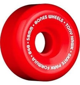 Eastern BONES HAWK WHEELS SPF MINI CUBE 58MM RED/WHITE