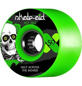 POWELL PWL/P ATF 59mm 78a SKATE AID RIPPER GREEN