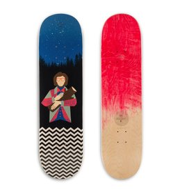 EASTERN SKATE HABITAT TWIN PEAKS LOG LADY DECK-8.37