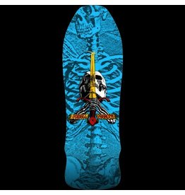 Eastern PWL/P GEE GAH SKULL & SWORD DECK-9.75X30 BLUE
