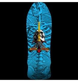 PWL/P GEE GAH SKULL & SWORD DECK-9.75X30 BLUE