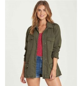 BILLABONG Billabong Right Left Right, Zipped Army Jacket