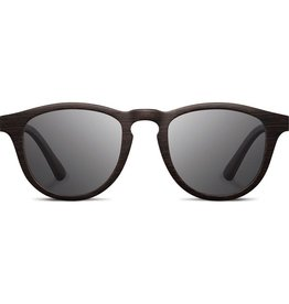 SHWOOD Francis Wood Sunglasses<br /> DARK WALNUT / GREY POLARIZED