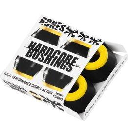 EASTERN SKATE BONES HARDCORE 4PC MED BLACK/YELLOW BUSHINGS