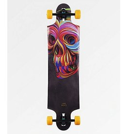 "LANDYACHTZ Landyachtz Ten Two Four Skull 38.75"" Drop Through Longboard Complete"