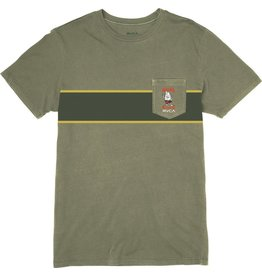 RVCA BIRDWELL SIDE RUNNER POCKET T-SHIRT