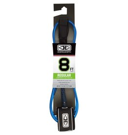 O&E MOULDED REGULAR LEASH 8' BLUE