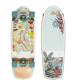 "Eastern Dusters Biota Teal 29"" Cruiser Skateboard"