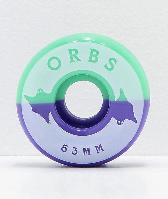Orbs Wheels Specters Split 53mm 99a Skateboard Wheels