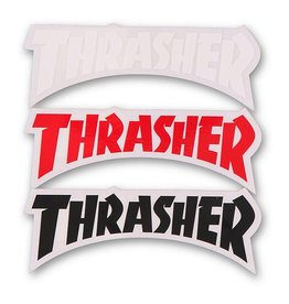THRASHER DIE CUT LOGO DECAL