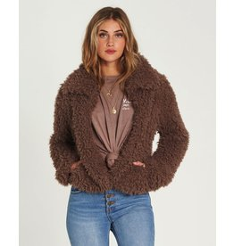 BILLABONG BILLABONG - FUR KEEPS JACKET