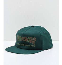 Thrasher Davis Forest Green Snapback Hat