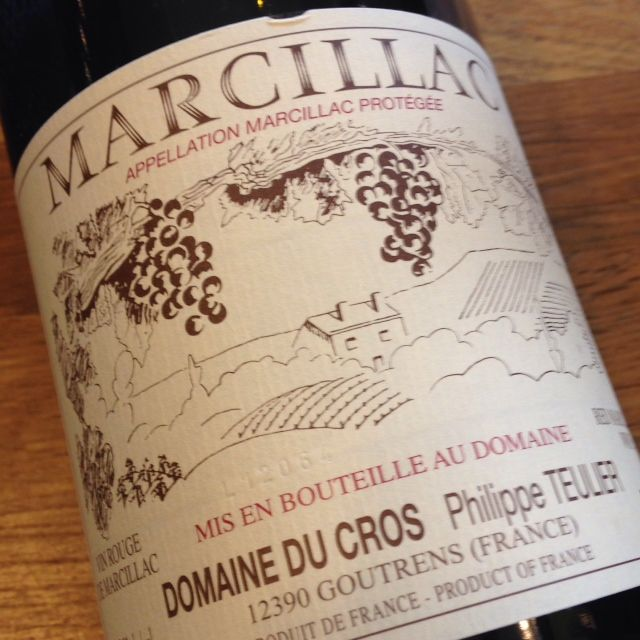 2014 Domaine du Cros Marcillac