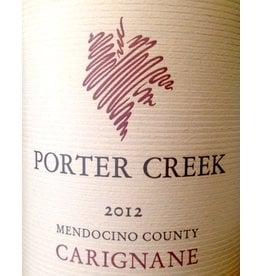 2012 Porter Creek Mendocino County Carignane