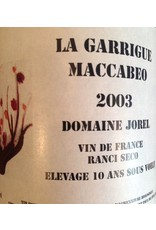 Domaine Jorel La Garrigue Maccabeo Rancio