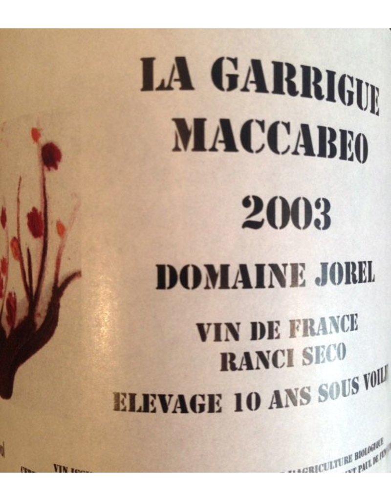 Domaine Jorel La Garrigue Maccabeo Rancio