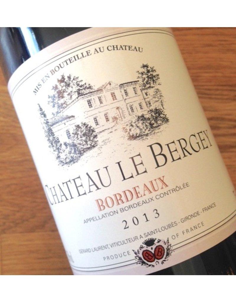 2014 Chateau Le Bergey Bordeaux
