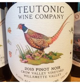 2014 Teutonic Crow Valley Pinot Noir