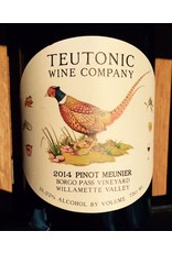 Teutonic Pinot Meunier Borgo Pass Willamette
