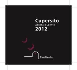 2015 Casebianche Cupersito Aglianico Cilento