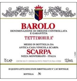 "2001 Scarpa Barolo ""Tettimorra"""
