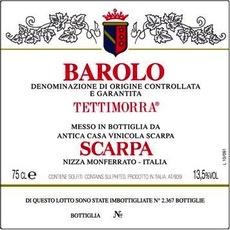 "2004 Scarpa Barolo ""Tettimorra"""